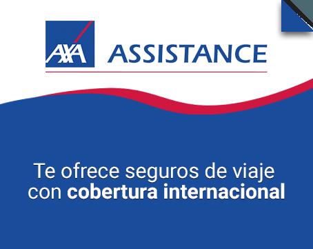 Te ofrece seguros de viaje con cobertura internacional