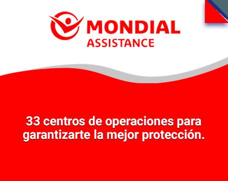 33 centros de operaciones para garantizarte la mejor protección