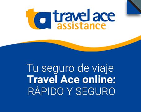 Tu seguro de viaje Travel Ace online: Seguro y rápido