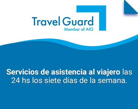 Servicio de asistencia al viajero las 24 horas los siete días de la semana