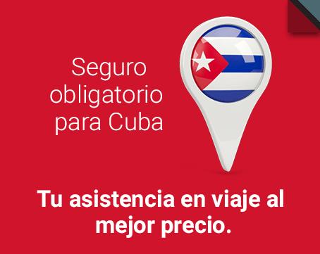 Obtén tu seguro obligatorio para Cuba al precio más bajo garantizado