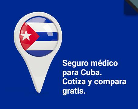 ¿Viajas a Cuba? Tu seguro médico on line y barato